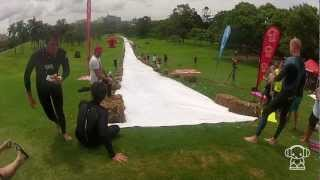 World Record Fastest 280m Slip 'n' Slide