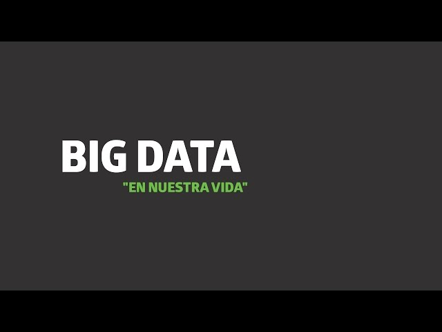 Big Data en la vida real | UTEL Universidad