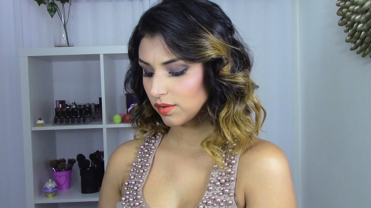 Peinado CABELLO CORTO ONDULADO por Argisa YouTube