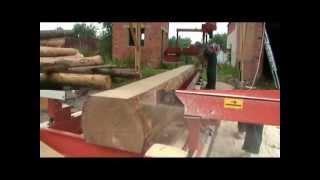 Изготовление сруба бани из лафета(Изготовление сруба бани из лафета (Норвежская рубка), 2012-07-20T18:43:52.000Z)
