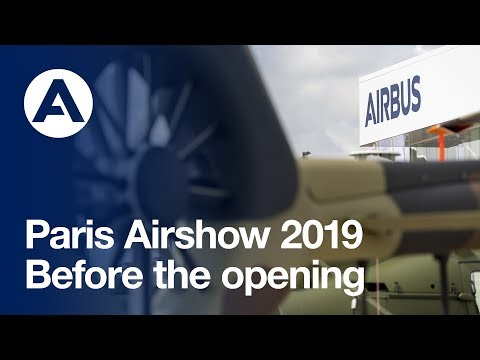 Paris Airshow 2019: Before the opening