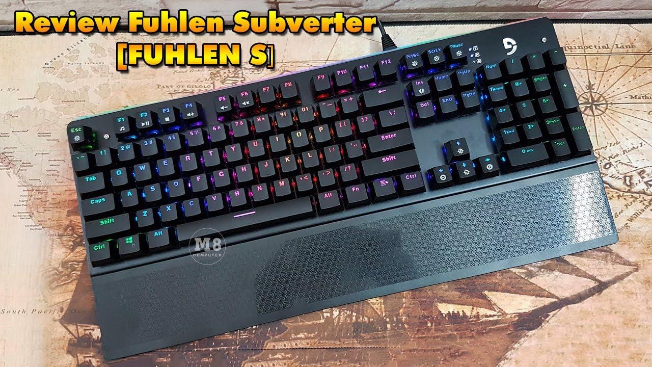 Bàn Phím Cơ Fuhlen Subveter LED RGB Chuyên Game