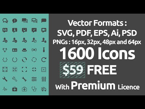 $59 Ultimate Icon Pack FREE Download | IcoMoon