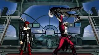 [MUGEN KOF] Memorial Phandom Dream - Tojo Nozomi = Iori Yagami - ADFE vs Dark God Rugal