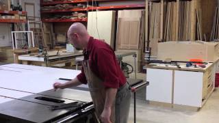 Cutting Dados & Grooves On Your SawStop Table Saw
