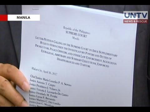 Center Law, hinimok ang SC na maglabas ng bagong panuntunan sa imbestigasyon ng extra-legal killings