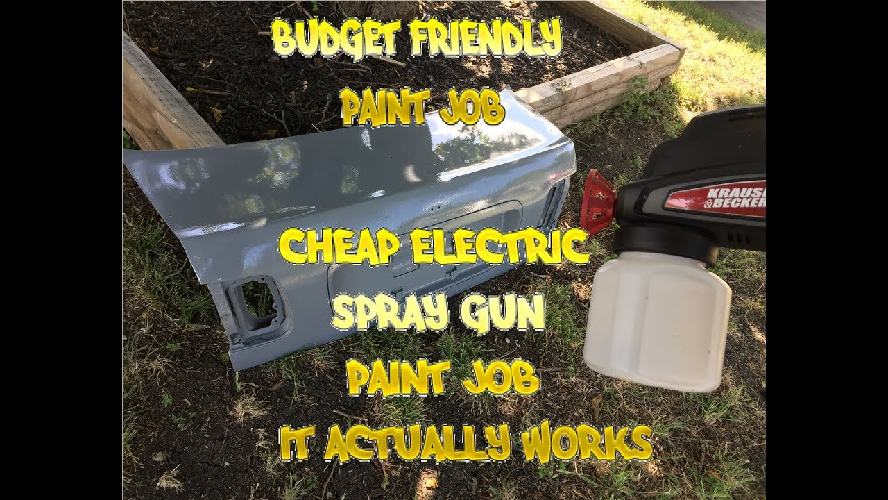 Painted with a $20 electric spray gun ( decent results)