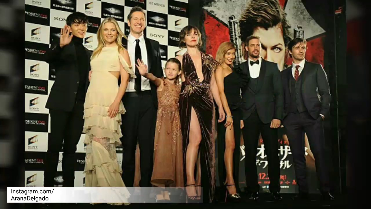 "Resident Evil The Final Chapter Premiere In: WILLIAM LEVY ""World Premiere"