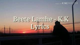 Beete lamhe - The Train (Full HD Lyric video) K.K / Emraan Hashmi