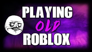 PLAYING ROBLOX IN 2010 (JAILBREAK)