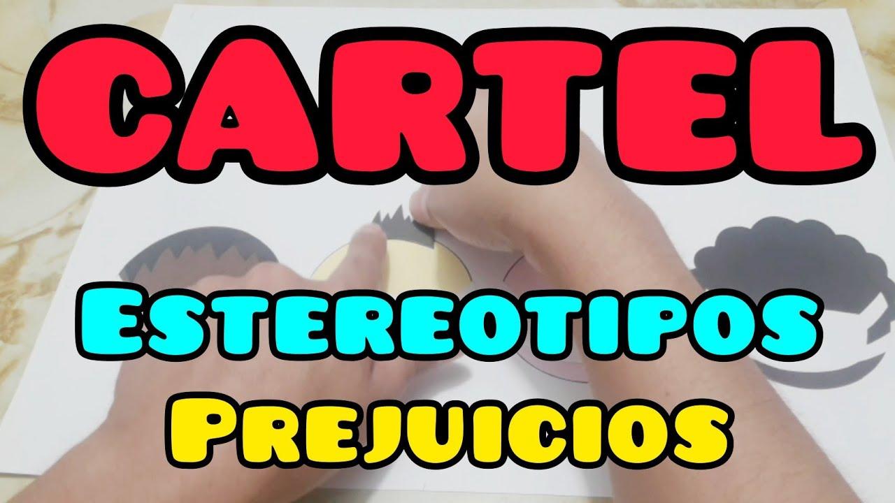 CARTEL contra los PREJUICIOS y ESTEREOTIPOS #3 / Aprendo en Casa