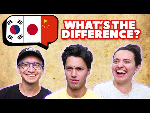 Can Americans Tell The Difference Between Japanese, Korean, And Chinese?