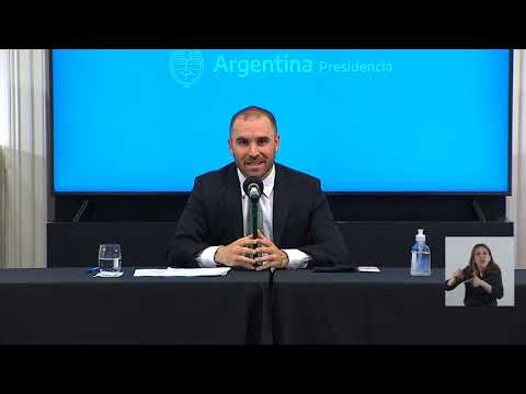 Guzmán anunció el primer paquete de medidas económicas