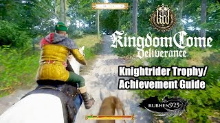 Kingdom Come: Deliverance - Knightrider Trophy/Achievement Guide | Win the Talmberg Horse Race