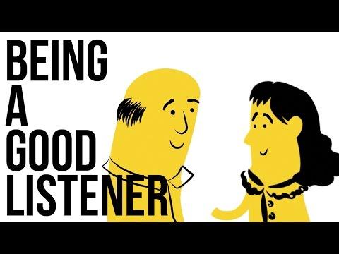 Being A Good Listener