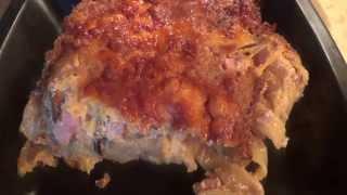 Запеченые Феттуччине в сливочно-грибном соусе