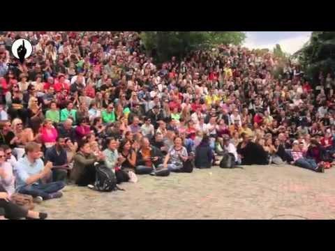 OneVibe World (Germany) - African/Dancehall Flashmob 2014 Part II in Berlin