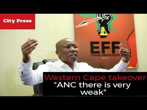 Malema on SACP meetings & infiltrating the Western Cape