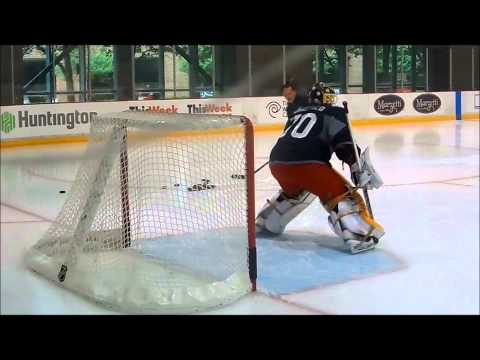 Columbus Blue Jackets Development Camp Goaltender Instruction 7/8/2014
