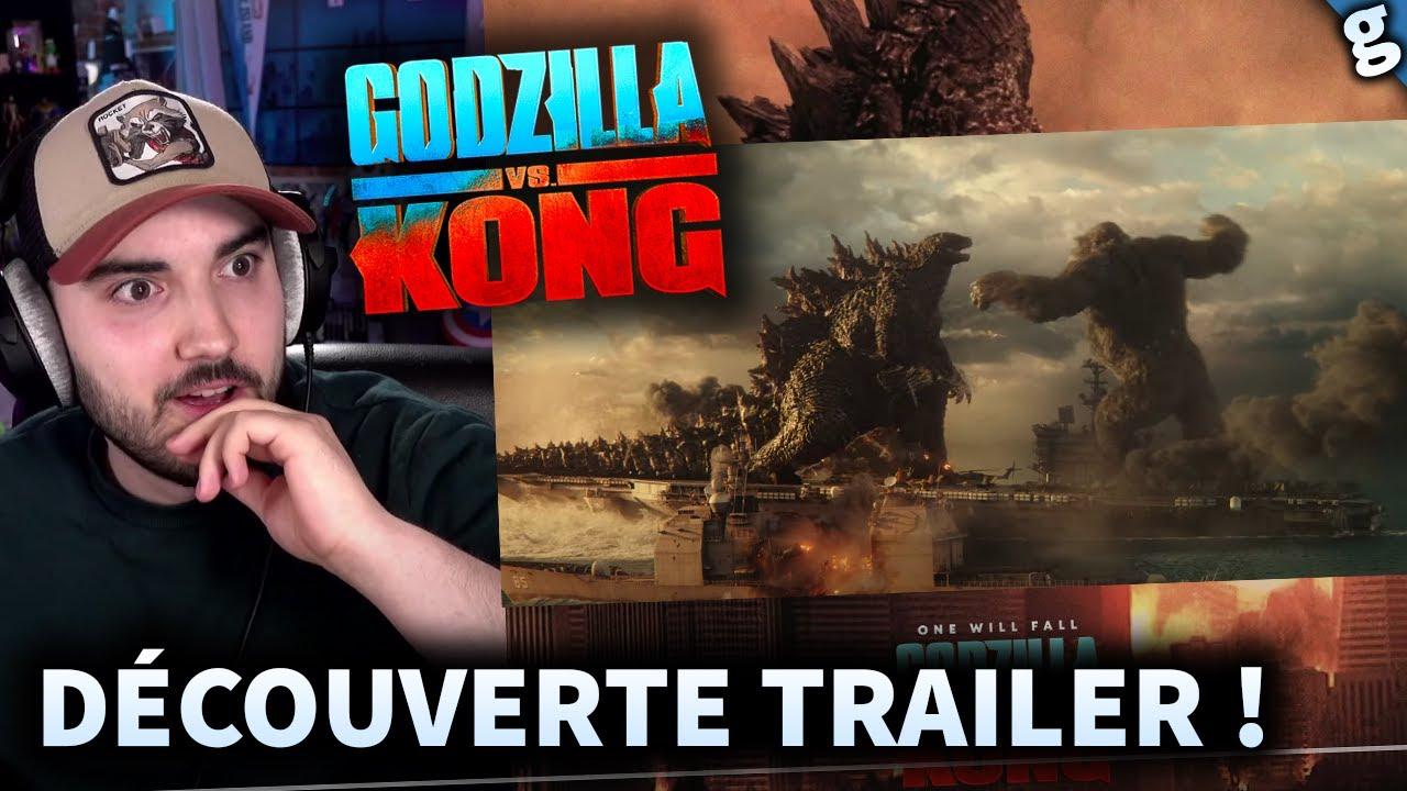 GODZILLA VS KONG : Découverte du TRAILER ! C'est FOU ? REACTION