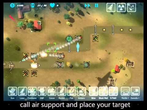 M.A.C.E. tower defense (Unlimited Gold)