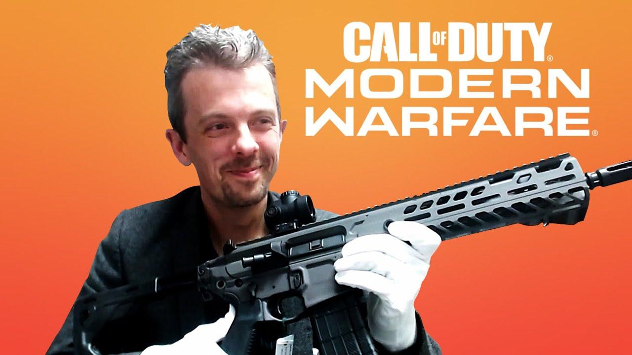 Firearms Expert Reacts To Call Of Duty: Modern Warfare's Guns - GameSpot