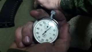 разборка автомата АК-74М 4 секунды в/ч 72154
