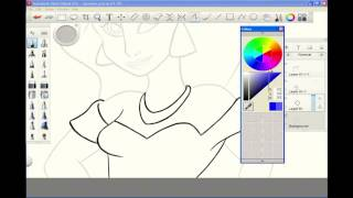 Princess Jasmine Drawing Speedpaint #5