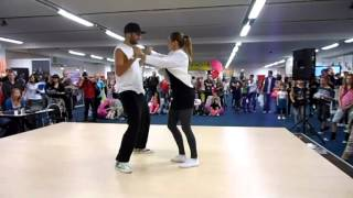 The first New Style Hustle show in Czech Republic-Dance life EXPO 2012