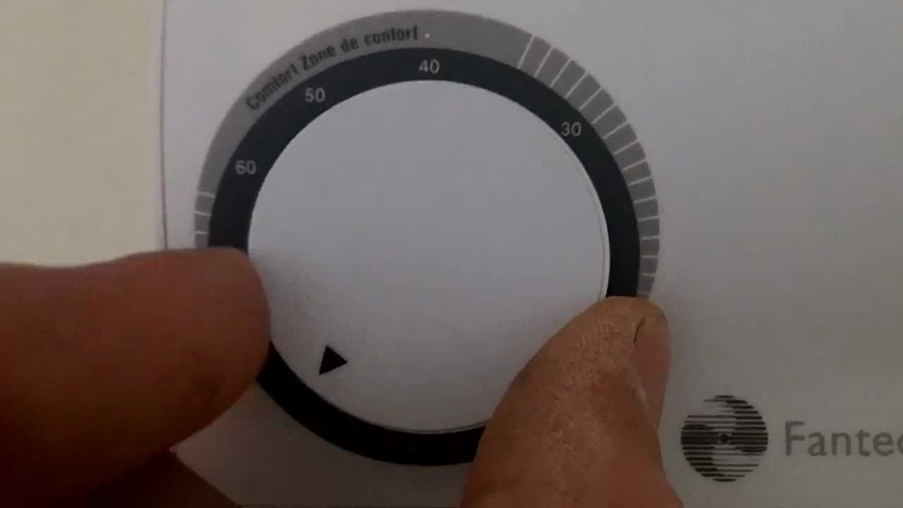 how to use fantech main humidistat control instructions [ 1280 x 720 Pixel ]