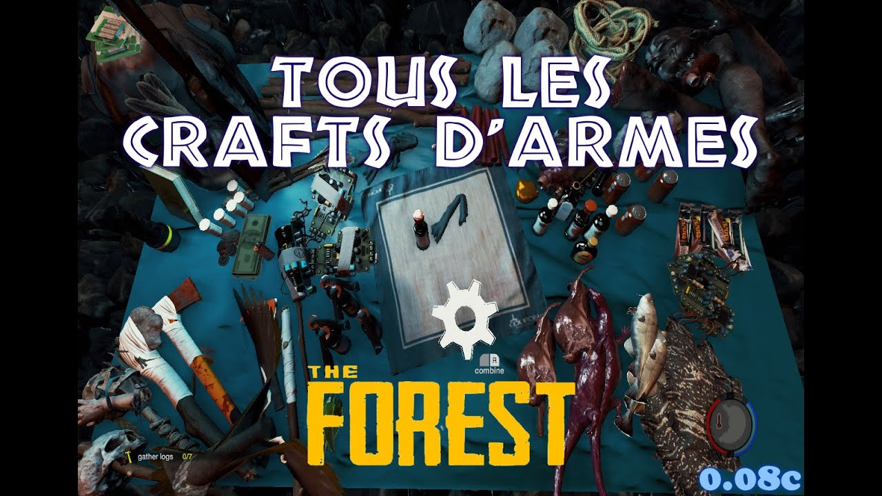 Wonderful The Forest : Tous les crafts d'armes 0.08c - YouTube CF65