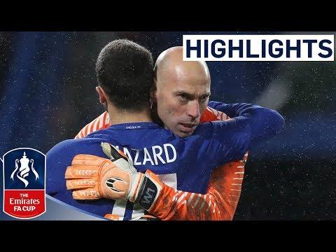 Chelsea Win Penalty Shootout! | Chelsea 1-1 Norwich | Emirates FA Cup 2017/18