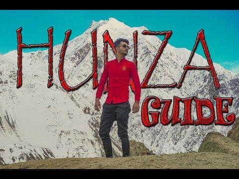 THE ELAHI GUIDE TO HUNZA.