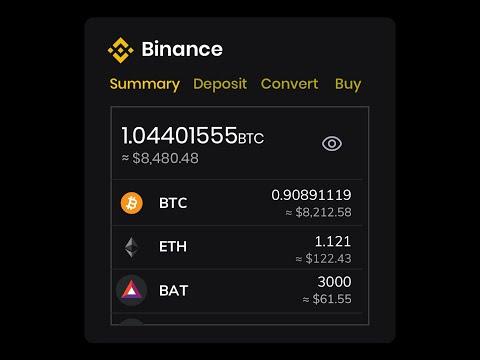 how to deposit bitcoin to binance