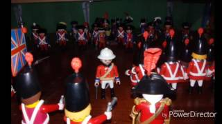PLAYMOBIL X2 BAYONETAS CARABINAS CARABINA SOLDADOS INGLESES FRANCESES PIRATAS