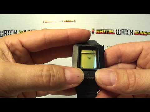 GCE Game Time Video Game Wrist Watch Plays 4 Games!