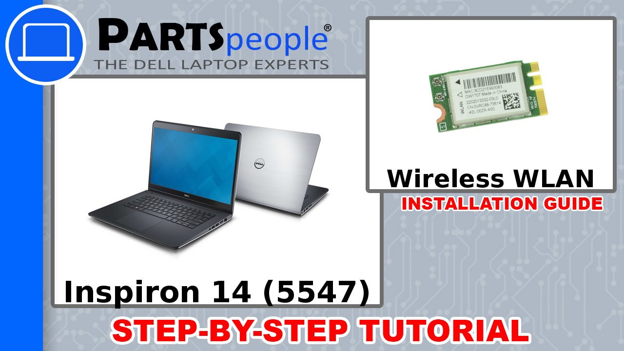 Dell Inspiron 15 (5547) Wireless WLAN How-To Video Tutorial