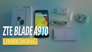 ZTE Blade A910 Unboxing