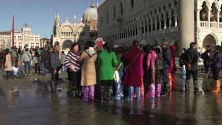 ונציה נעלמת: איטליה הכריזה על מצב חירום בעקבות ההצפות בעיר