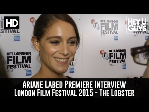 Ariane Labed   The Lobster Premiere