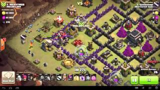 Clash of Clans - TH9 - GoLaLoon - War 55 vs MOLON LABE - Gooroomp vs #2