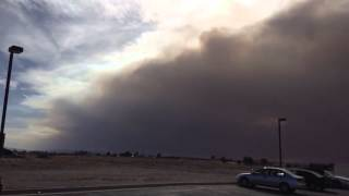 Massive cloud of Smoke from Colorado Wildfires