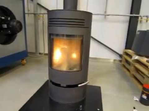 Lab test of exodraft chimney fan, no smoke from woodburning stoves