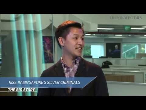 The Big Story: Rise in Singapore's silver criminals | The Straits Times (04/06/19)