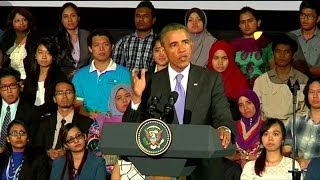 Obama warns against oppression of Burma's Muslims
