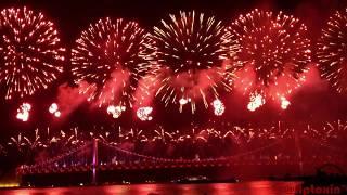 Busan Firework Festival 2013 at Gwangalli Beach, Busan, South Korea