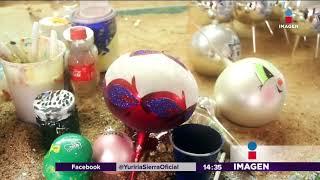 Artesanías navideñas mexicanas, rompen fronteras | Noticias con Yuriria Sierra