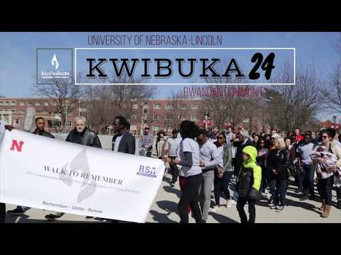 Kwibuka 24 at the University of Nebraska-Lincoln
