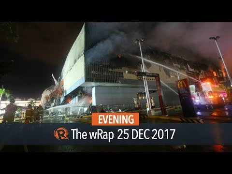Justice dep't launches criminal probe after deadly Davao mall fire