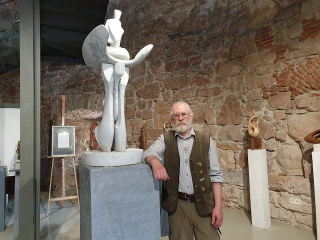 Vernisajul expoziției de sculptură Metamorfoza - Kun Árpád György